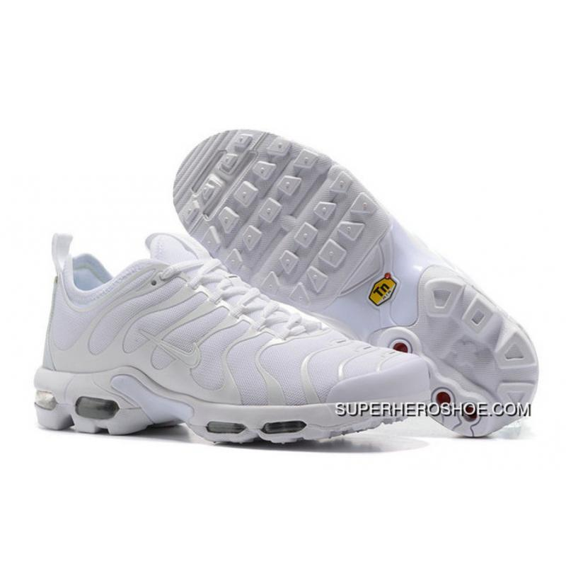 quality design 7768f 56c0a Discount Nike Air Max Plus TN All White ...
